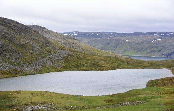 Landschaft in der Nähe vom Nordkap