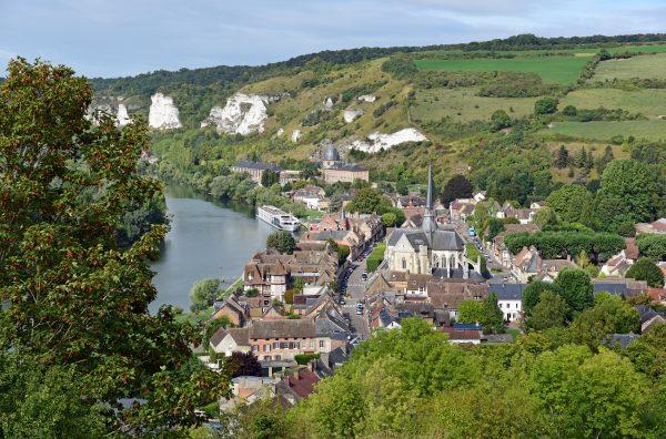 Blick auf Les Andelys