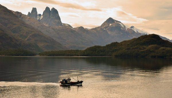 Blick auf den Nationalpark Torres del Paine