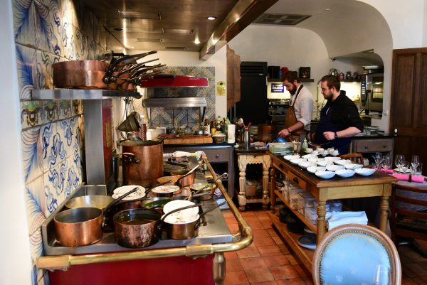 Das Restaurant G.A. / Manoir de Rétival