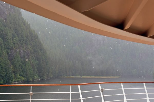 Regen in den Misty Fjords