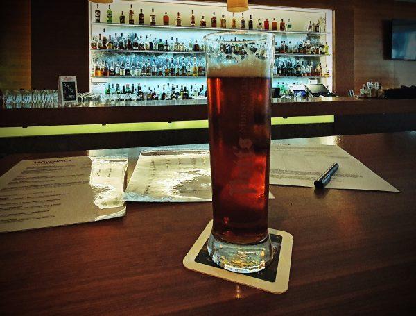 Bier im Hotel Mövenpick in Münster
