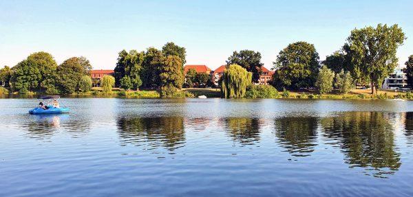 Der Aasee in Münster