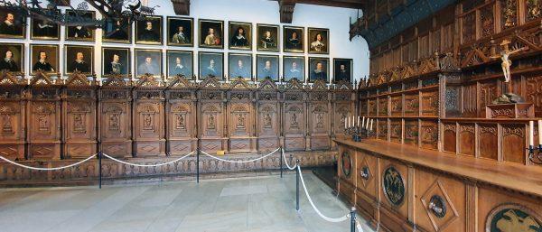 Im historischen Rathaus von Münster