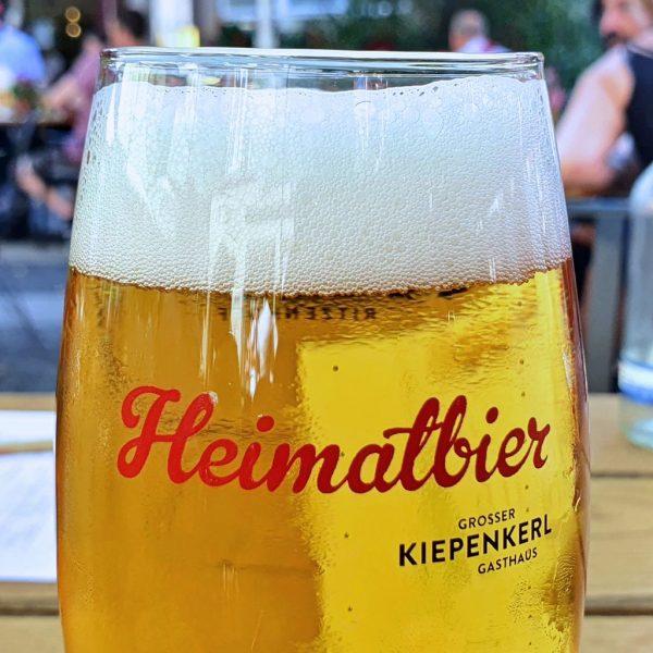 Heimatbier beim 'Großer Kiepenkerl' in Münster