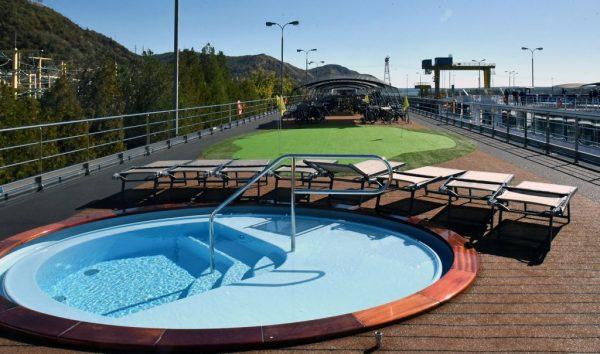 Der Pool der MS nickoVISION