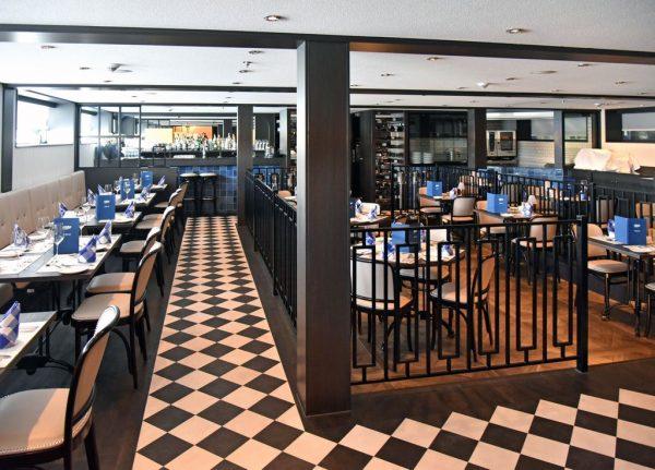 Das Restaurant Manhattan auf der MS nickoVISION