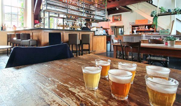 In der Brouwerij de Hemel in Nijmegen