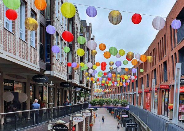 Die Marikenstraat in Nijmegen