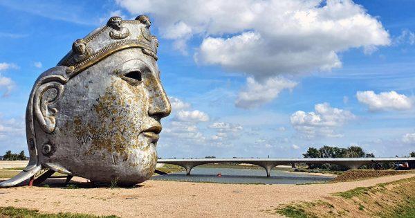 Das Gesicht von Nijmegen