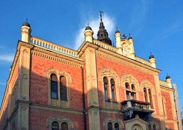 Der Bischofspalast von Novi Sad
