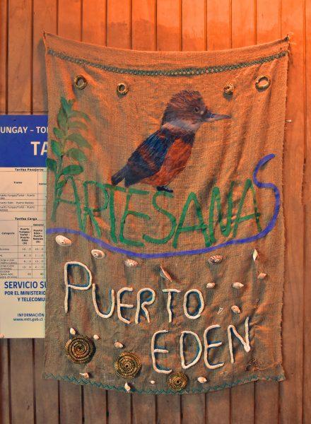 Ein Andenken an Puerto Edén