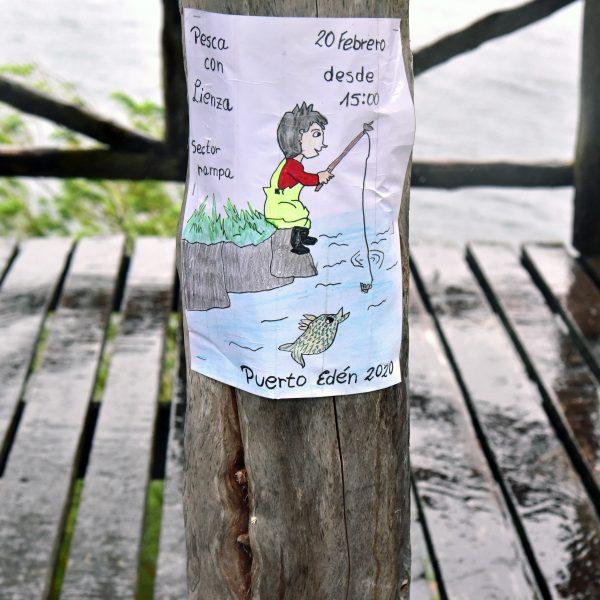 Angler-Treff in Puerto Edén