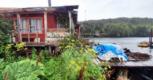 Eine Pension in Puerto Edén