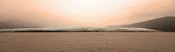 Blick auf den Pio XI-Gletscher