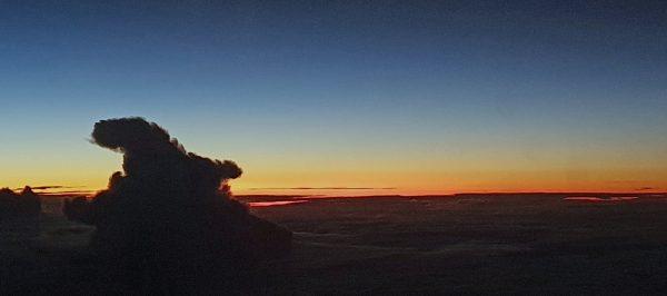 Sonnenaufgang in Brasilien