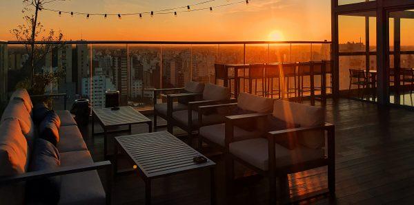 Die Roofbar vom Hotel 'Grand Brizo La Plata'
