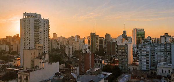 Blick auf La Plata