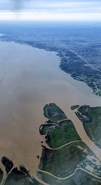Der Mündungstrichter Rio de la Plata