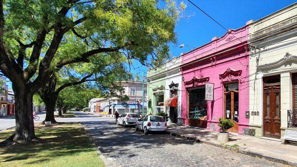Straßenszene in Chascomús