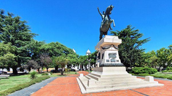 Das Monument San Martin in Chascomús
