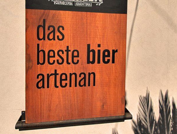 'Das beste bier artenan' in City Bell