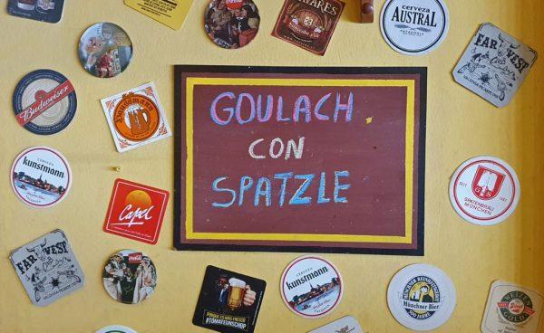 Gulasch im Cafe Hausmann, Puerto Varas