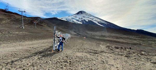 Zinni und der Vulkan Osorno