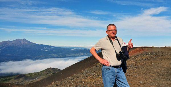 Zinni am Vulkan Osorno
