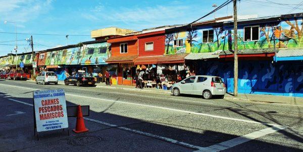 Kunsthandwerksläden in Angelmó / Puerto Montt