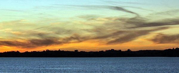 Sonnenuntergang an der chilenischen Küste