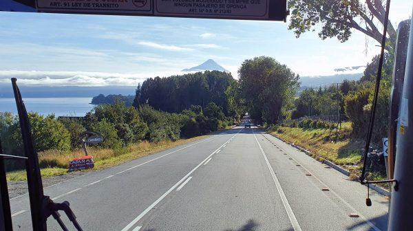 Auf dem Weg zum Vulkan Osorno