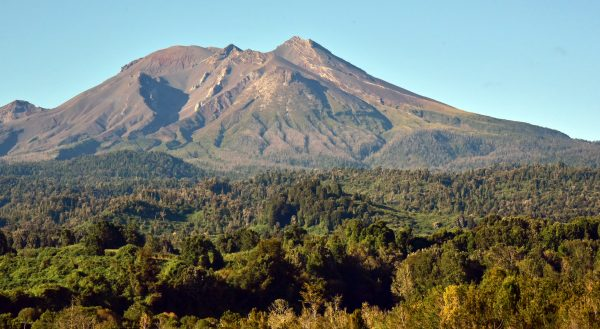Der Vulkan Calbuco