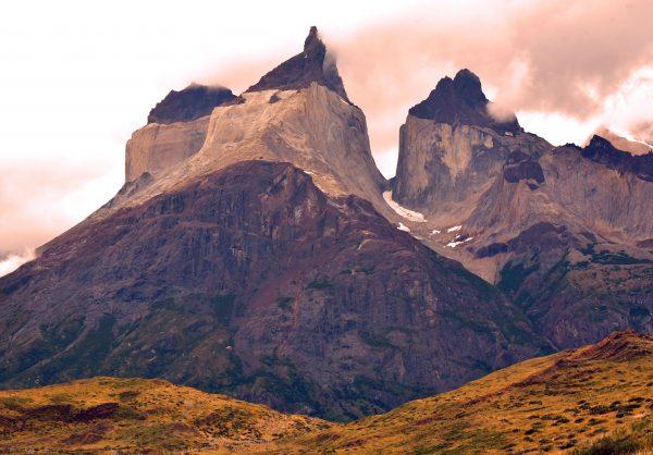 Blick auf das Paine-Massiv im Torres del Paine Nationalpark