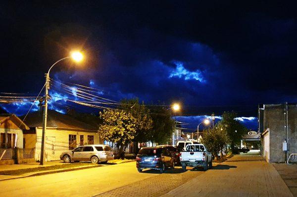 Nachts in Puerto Natales