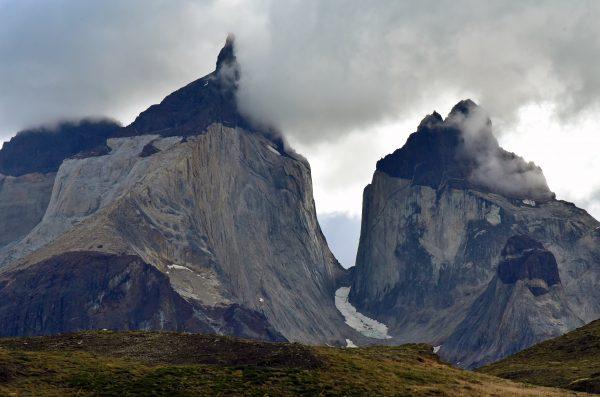 Meine letzten Blicke auf die Berge im Torres del Paine Nationalpark