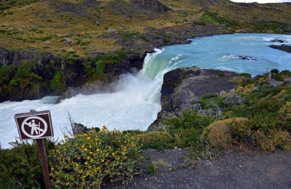Der Wasserfall 'Salto Grande' im Torres del Paine Nationalpark