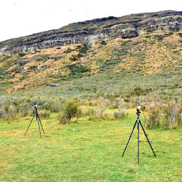 Teleskope zur Kondor-Suchen