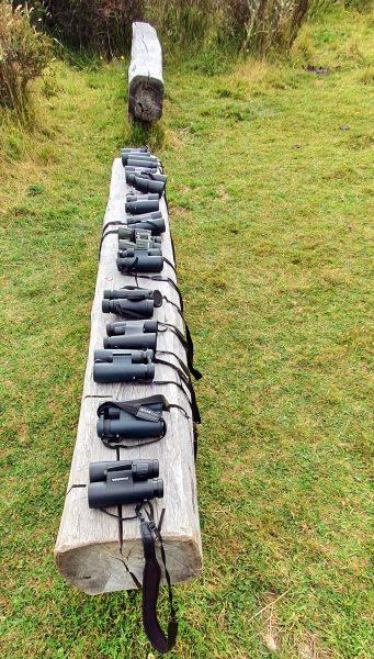 Ferngläser für die Kondor Beobachtung