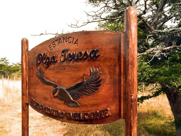 Eingang zur Estancia Olga Teresa