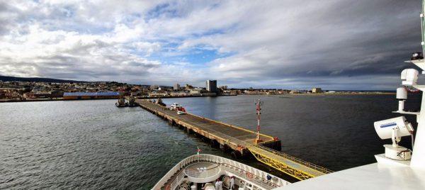 Abschied von Punta Arenas