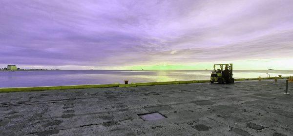 Im Hafen von Punta Arenas