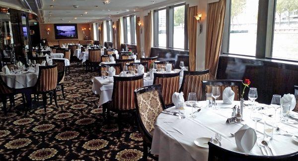 Das Restaurant der MS Excellence Royal
