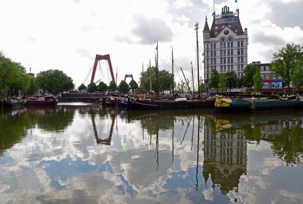 Der alte Hafen von Rotterdam