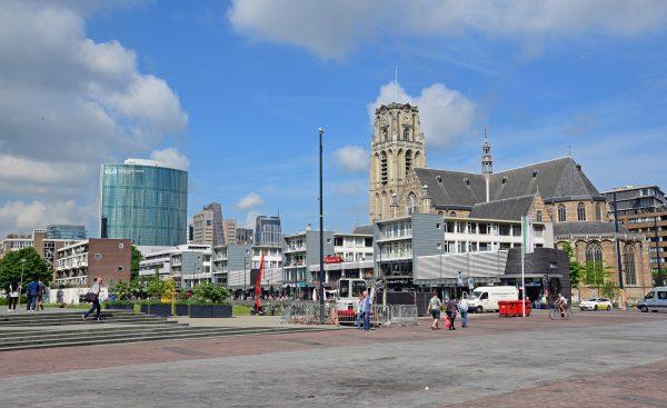 Die Innenstadt von Rotterdam