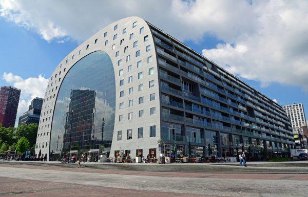 Die Markthalle von Rotterdam