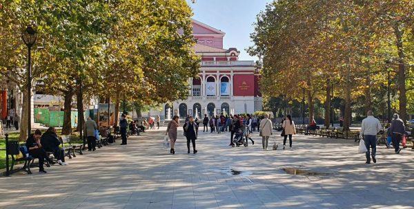 Das Opernhaus in Rousse
