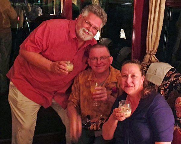 Meine deutschen Freunde an Bord von Rovos