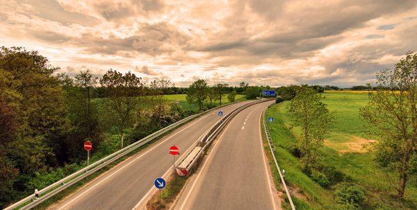 Schlechte Zeiten - Leere Autobahnen