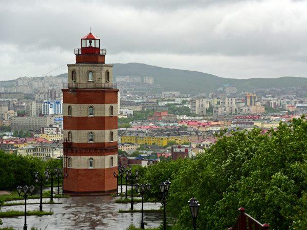 Das Seemann Monument in Murmansk